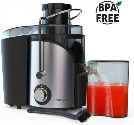 Homgeek Introduces Their Vegetable Juicer Machine 2