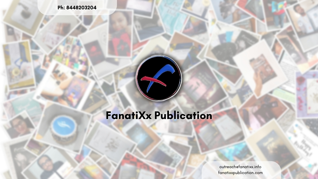 Get published today with India's most trusted Book Publication House, FanatiXx Publication 1