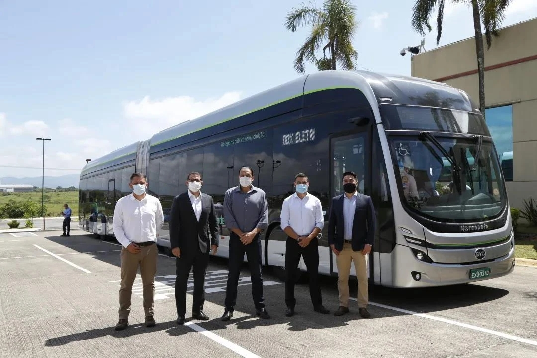 SONGZ provides air conditioning for BYD's 22-meter pure electric hinged bus 1