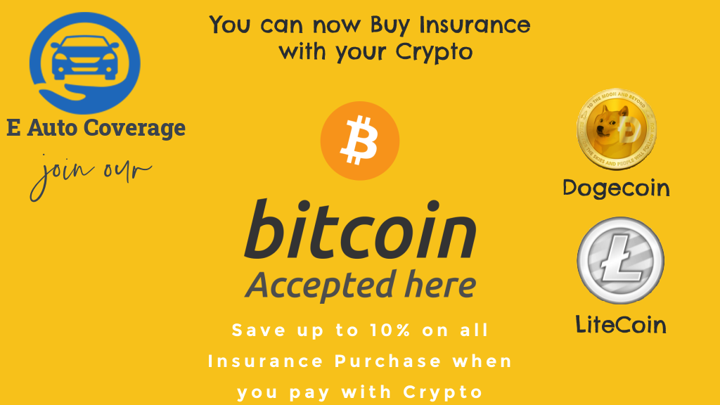 Georgia-Based Assurance Agency, E Auto Coverage Insurance, Becomes the First to Use Cryptocurrency 1