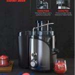 Homgeek Introduces Their Vegetable Juicer Machine