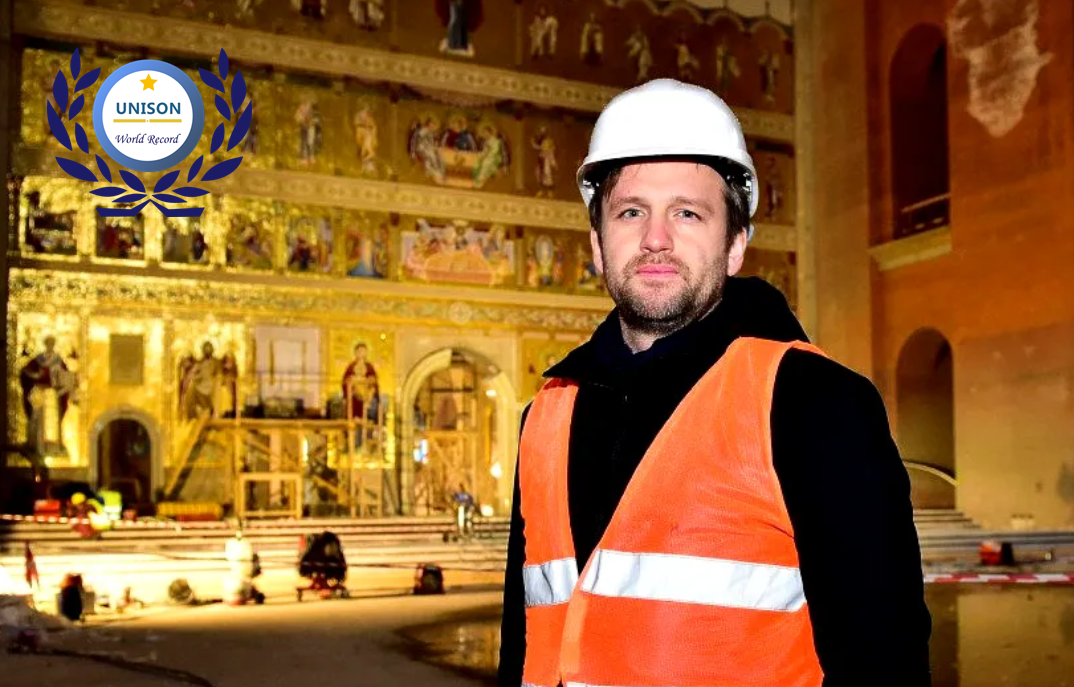 Romania People's Salvation Cathedral set up new world record for Largest Orthodox Iconostasis 1