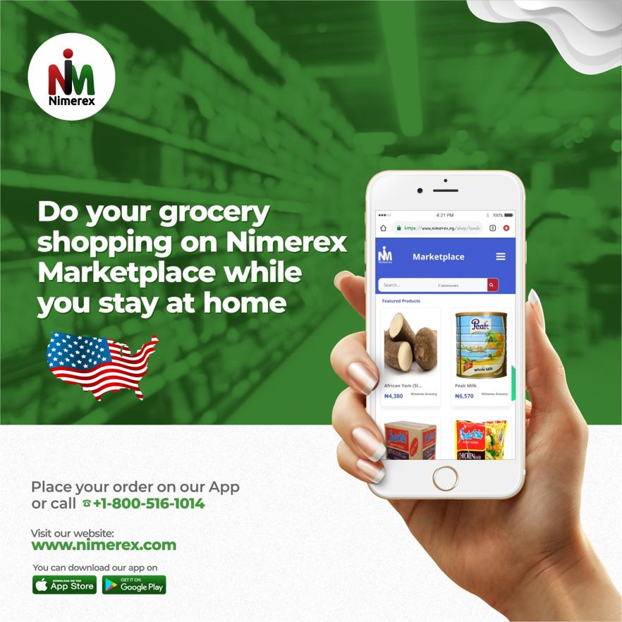 Nimerex Launches Free Delivery of African Grocery to Every State in the United States 1