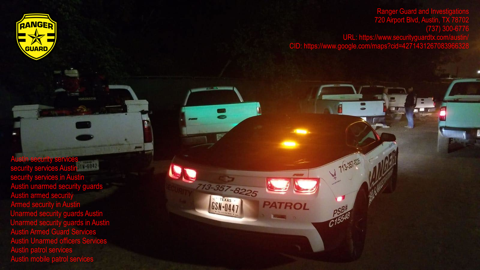 Ranger Guard and Investigations Now Serves the Whole Austin Area 1