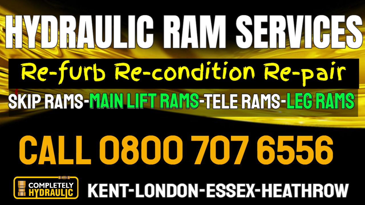Completely Hydraulic Is Stepping Up Servicing Skip Lorries For Ram Repairs In Essex, London, Kent and Heathrow 1