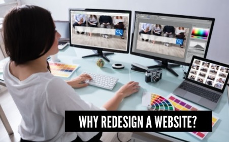 Web in Motion helping business redesign their website and boost revenue 1