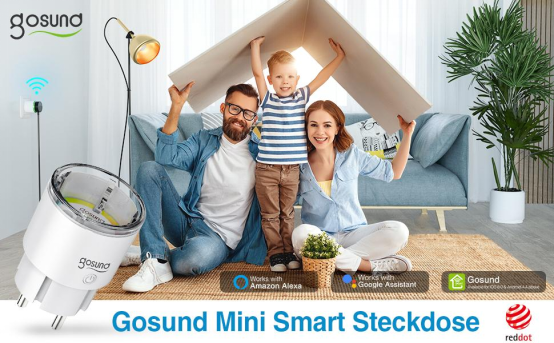 Gosund Smart Plug WON The Red Dot Design Award 15