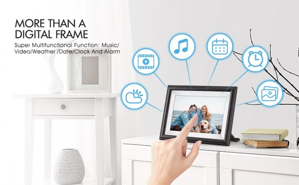 Pastigio Cloud Share Digital Picture Frame – The Most Meaningful Gift for the Loved One 6