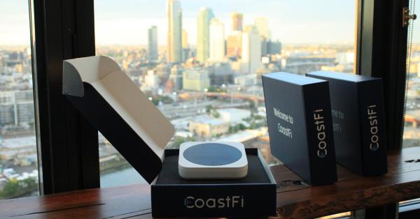 A New Era of Data: CoastFi Brings IoT Hotspots Coast-to-Coast 1