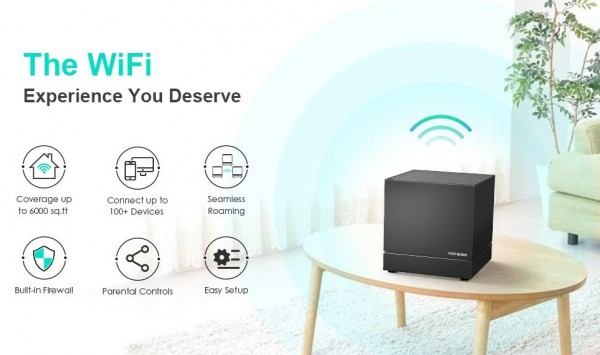 New Product Release: rockspace AC2100 Tri-band Mesh WiFi System 2021 5