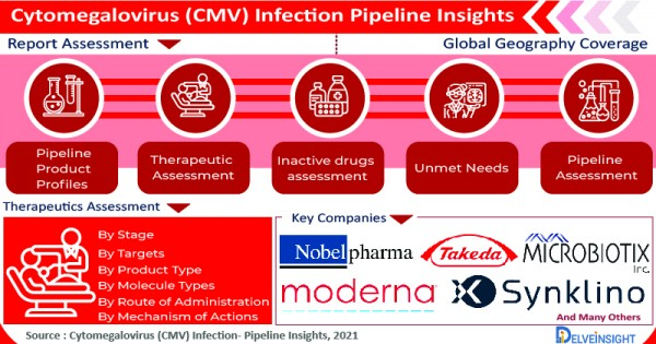 With an Influx of Pharmaceutical Companies and Novel Therapies, The Cytomegalovirus Infection Pipeline Is Booming 2