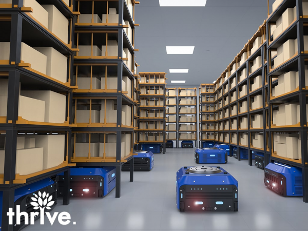 Thrive Cloud Warehouse Logistics Accelerates Business in India and around the world 1
