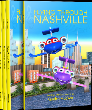 """""""Flying Through Nashville"""": Kendra Hudson publishes a children's book on understanding the importance of sibling bonds and exploring new places. 1"""