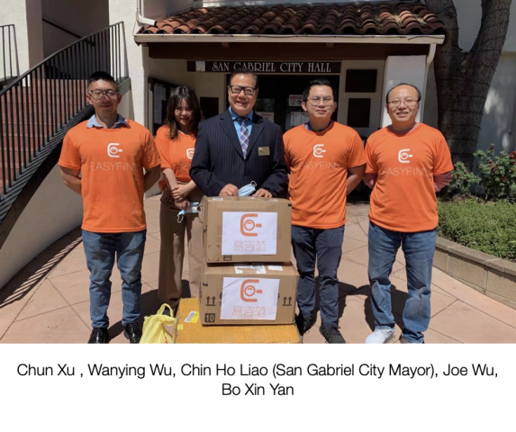 Easyfind Company Donates Face Masks to Local Communities 3