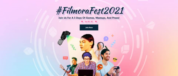 Wondershare Technology Announces The Launch Of The #FilmoraFest2021 Campaign 1