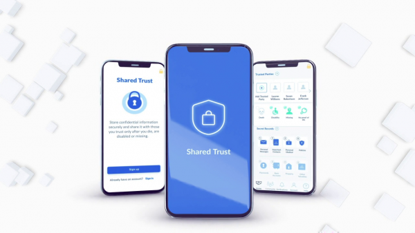 Immersive Authority Releases Digital Vault and Legacy Mobile App Shared Trust 3