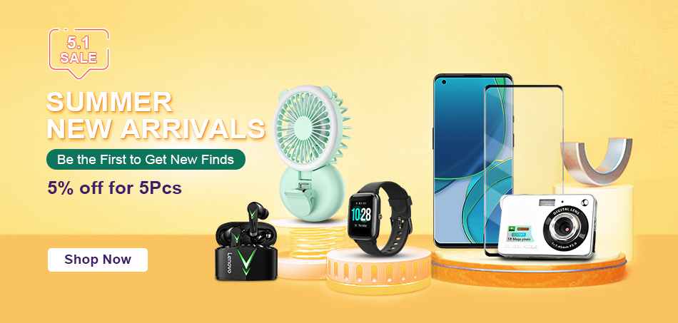 TVC Mall Launched Huge Collection of Household Fans And Smart Electronics Items with Flash Shipping Options 3