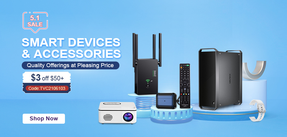 TVC Mall Launched Huge Collection of Household Fans And Smart Electronics Items with Flash Shipping Options 2