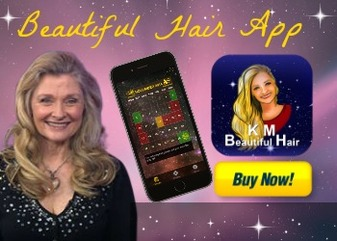 Celebrity Astrologer Karen Moregold's New App Shows How to Get Beautiful Hair By the Moon's Growth Cycles 1