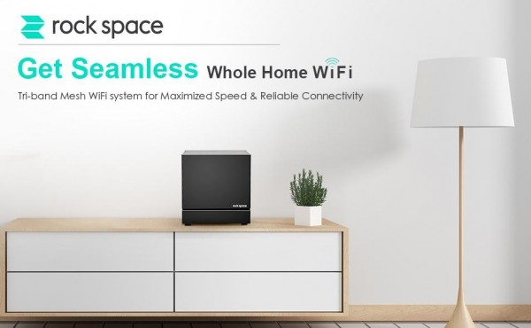 New Product Release: rockspace AC2100 Tri-band Mesh WiFi System 2021 1