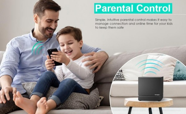 New Product Release: rockspace AC2100 Tri-band Mesh WiFi System 2021 6