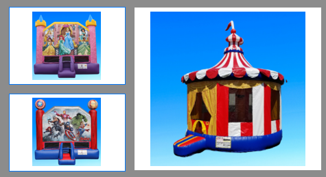 Bounce House Rental Top Provider, Bouncing on Air, for Parties, Carnivals, and Events in Buffalo, NY 3