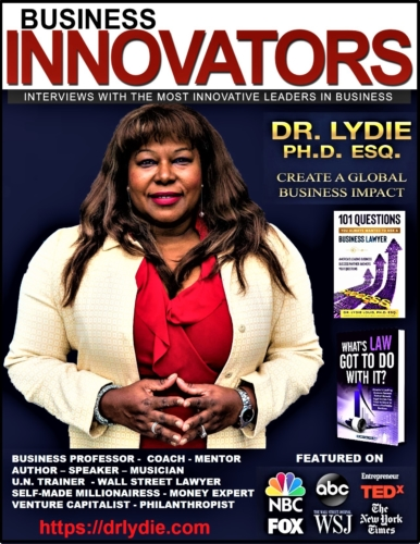 Dr. Lydie, The World's Most Sought-After Business Legal Authority Has Been Featured In The Wall Street Journal, The New York Times, USA Today & The New York Law Journal 1