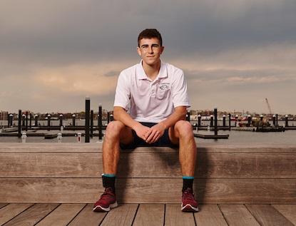 Lynnfield teen entrepreneur debuts life-saving socks 1