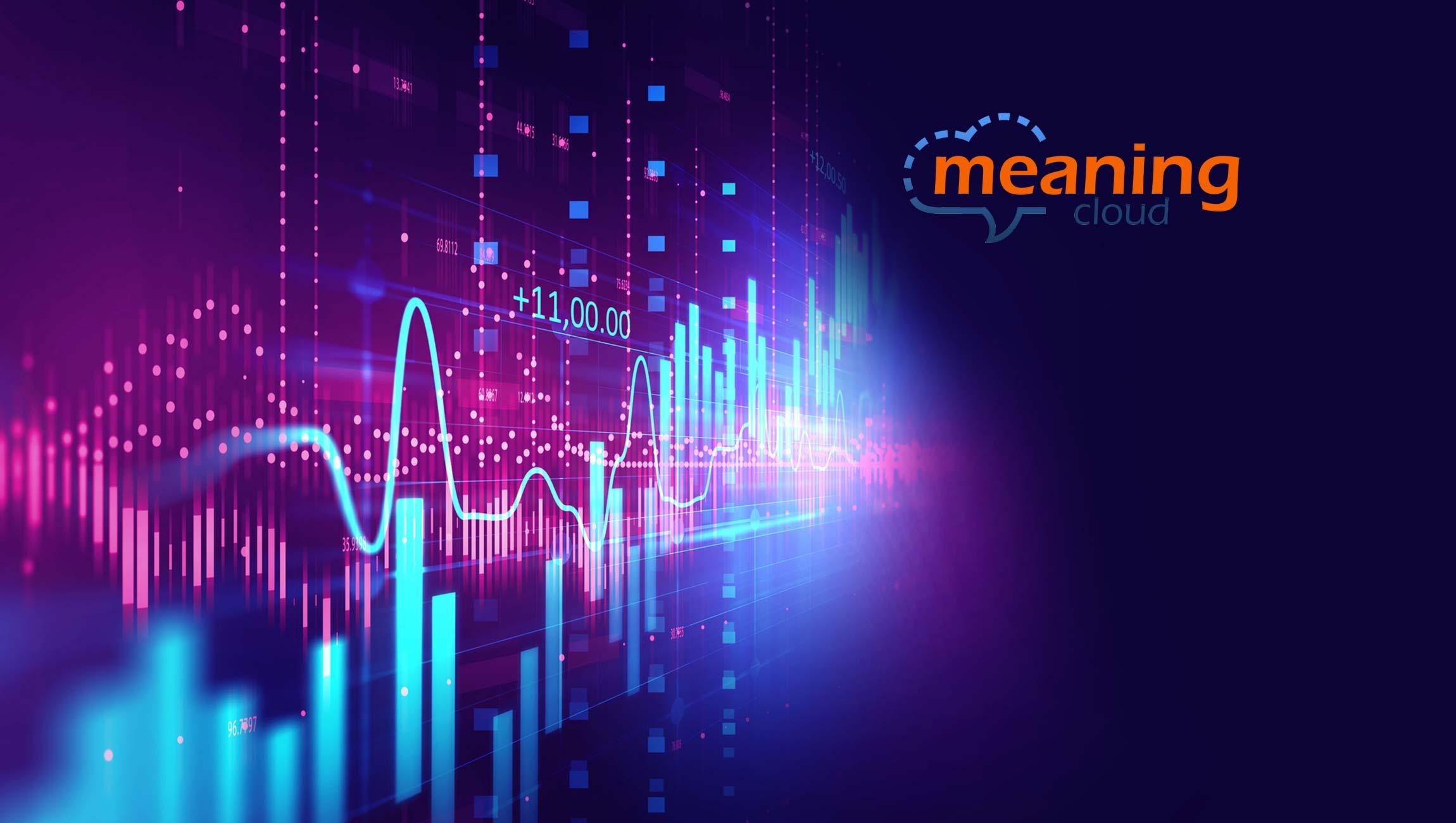 MeaningCloud Announces Strategic Partnership with Webhose 1
