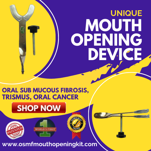 UNIQUE Mouth Opening Exerciser Device Is One of the Best Mouth Jaw Opener Heister by Smile in Hour® 1