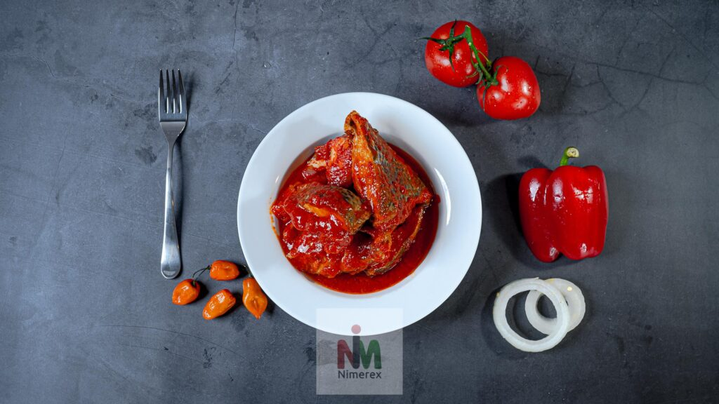 Nimerex now delivers Tilapia Fish Stew to homes across America. See menu on nimerex.com 3