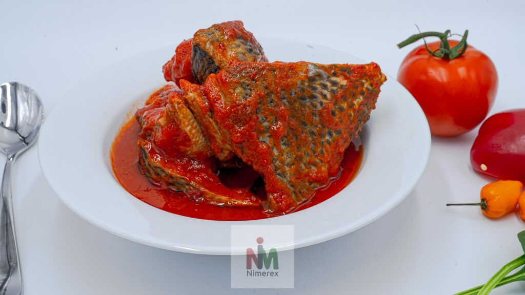 Nimerex now delivers Tilapia Fish Stew to homes across America. See menu on nimerex.com 2