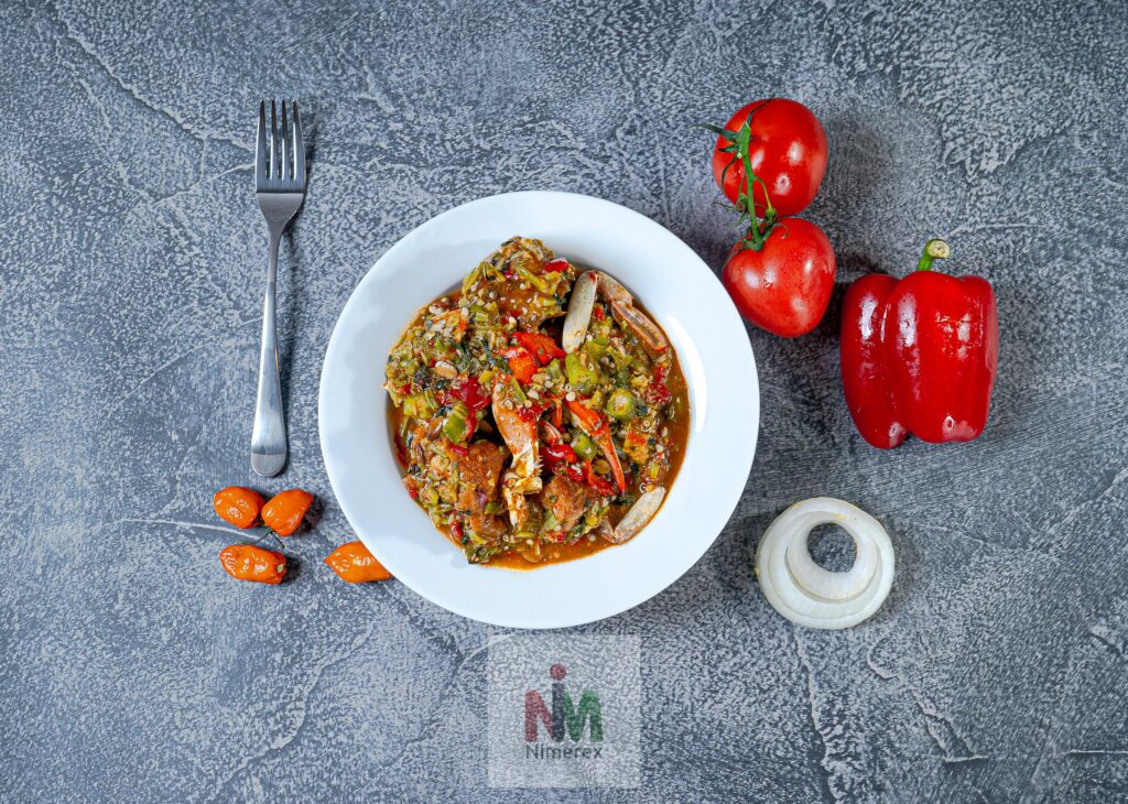 Okro Soup delivery to homes across America. See menu on nimerex.com 2