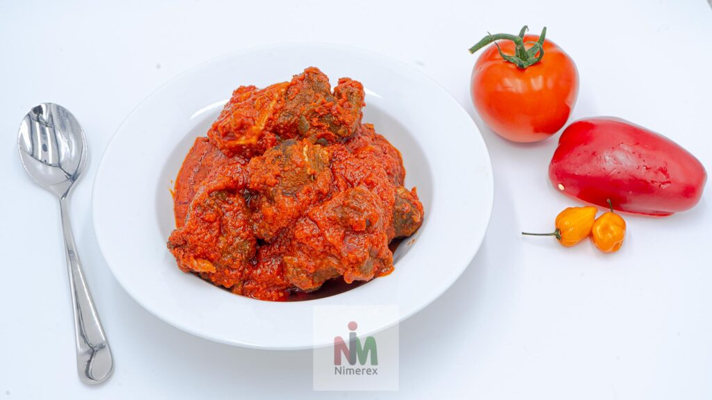 Nimerex launches Goat Meat Stew delivery to homes across America. Check on nimerex.com 2