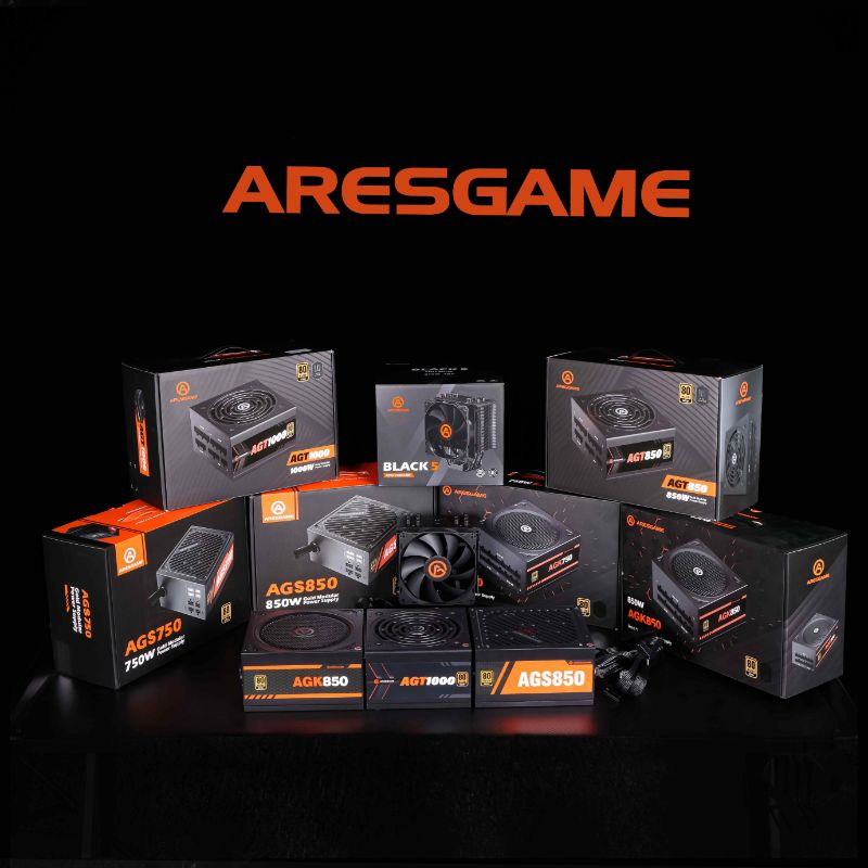 ARESGAME Announces the Launch of New Computer Power Supplies Produced to Deliver Exceptional Performance For Game Lover 1