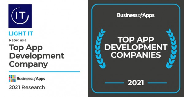 Light It Ranked As One Of The Top App Development Companies – Business Of Apps 1