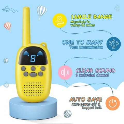 COTRE Walkie Talkies for Kids Boosts Productivity During Pandemic 1
