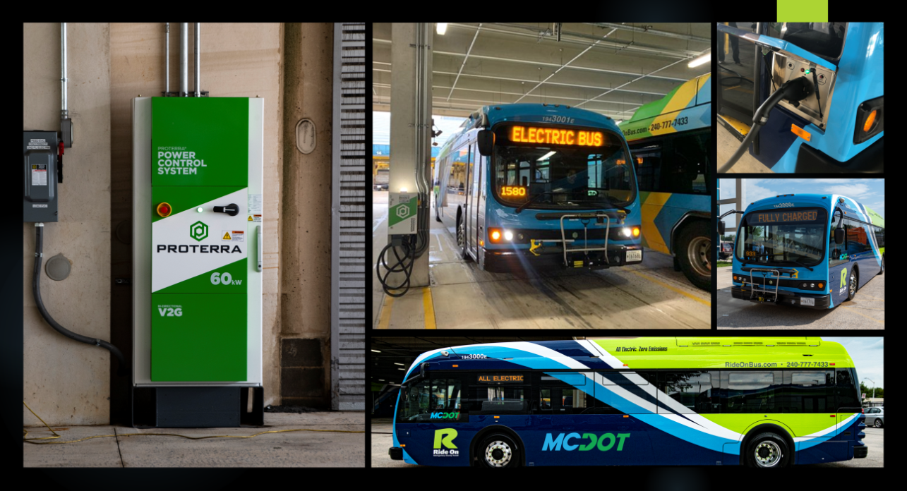 AlphaStruxure, a joint venture of The Carlyle Group and Schneider Electric to deploy an integrated microgrid and electric bus charging infrastructure project for Montgomery County 2