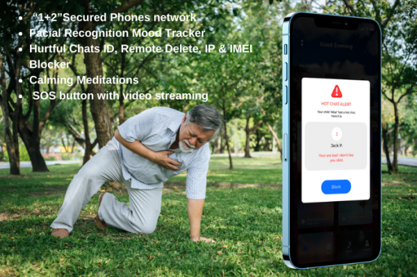 Improved Safety for Mobile Phone Users with Calmmie AI Controls 2