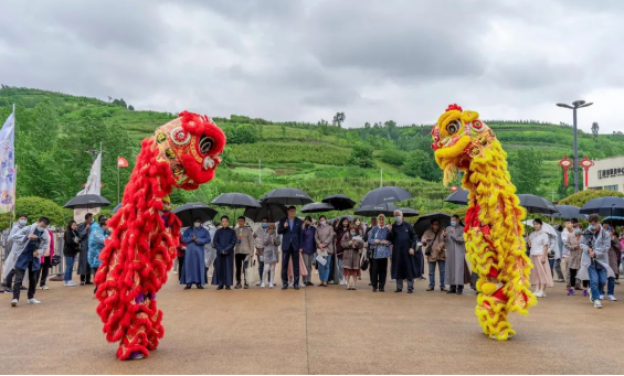 """""""Bring the Starting Point of the Silk Road to the World"""" 2021 Economic, Trade and Cultural Tour of Xi'an for Diplomatic Envoys to China – Lantian and Qujiang Cultural Tourism PR 3"""