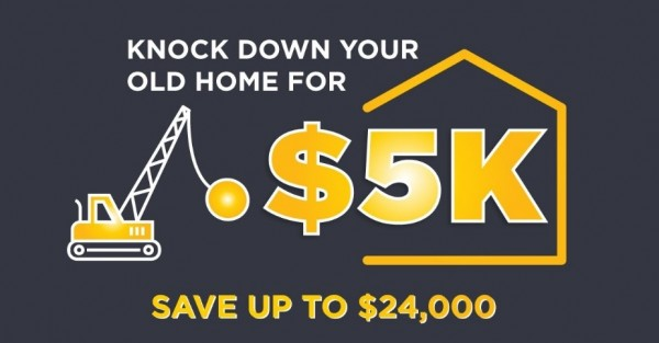 """Champion Homes Australia Launches New offer For New """"Knock Down & Rebuild"""" Customers 1"""
