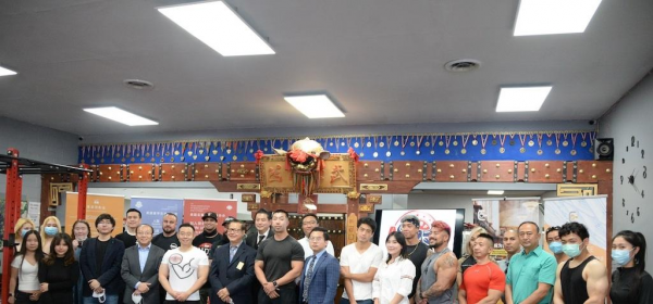 US-Asian Association of Bodybuilding and Fitness (UAABF) Establishment Ceremony 20