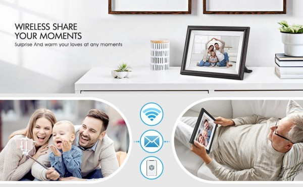 Pastigio Cloud Share Digital Picture Frame – The Most Meaningful Gift for the Loved One 4
