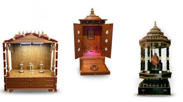 Innovative Custom-Made Pooja Mandirs Added To Divine Wood Furniture Inventory 3