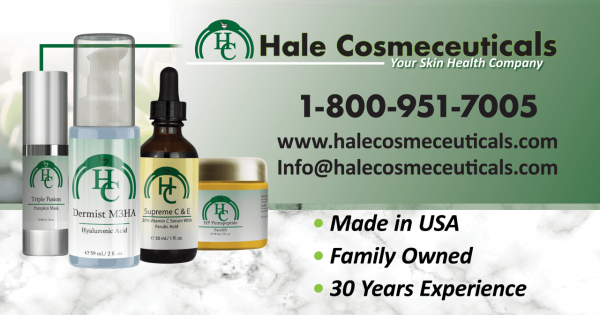 Hale Cosmeceuticals Launches New Website and New Products with Natural Anti-Aging Technologies 1