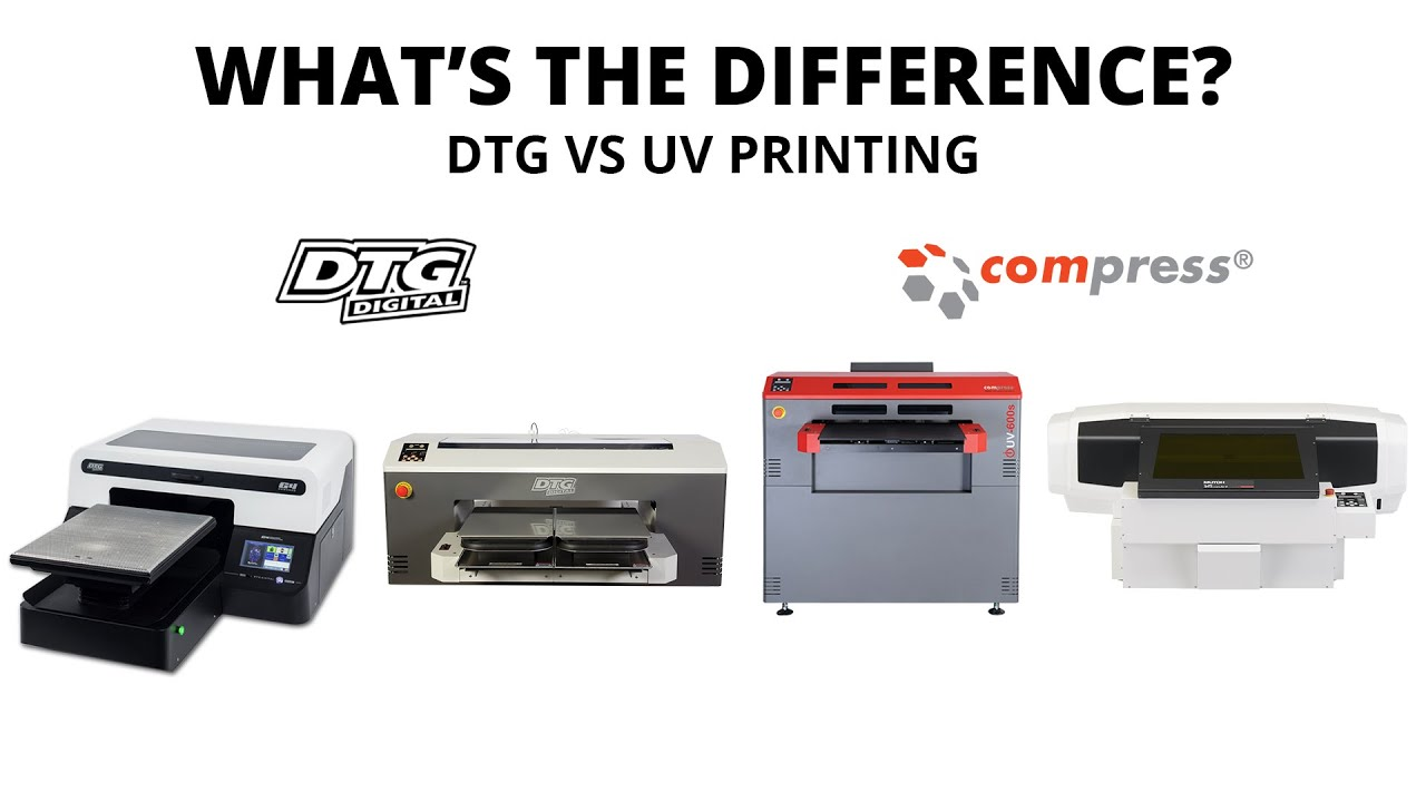 How to Distinguish the Differences between UV Printer and DTG Printer 1