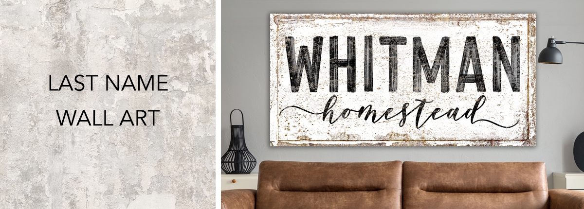 Personalized Last Name Wall Art: Bring Style to Your Home with Wall Art from Widdlytinks 1