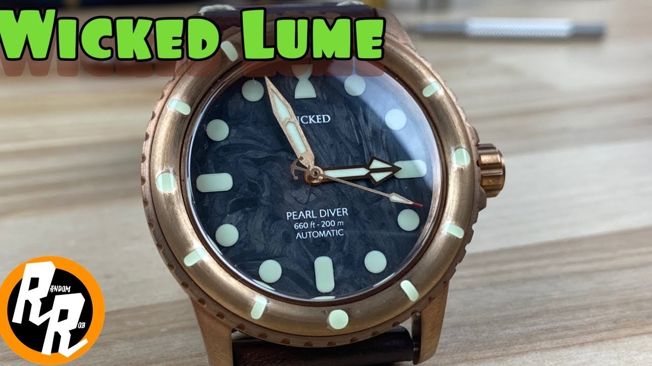 WICKED WATCH CO. launches Indiegogo Campaign for its All-New Pearl Diver 1