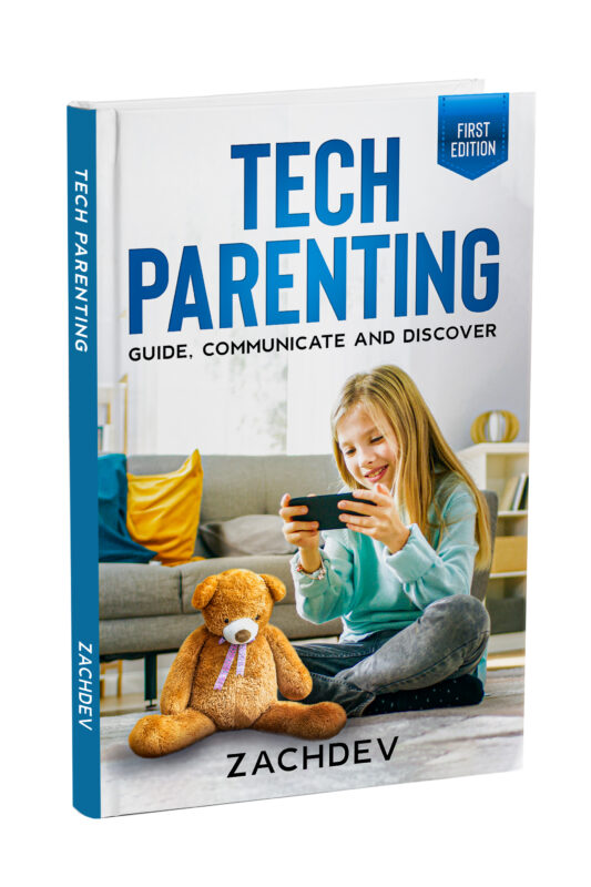 Zachdev Services Launches the First Edition of Their Tech Parenting eBook 1